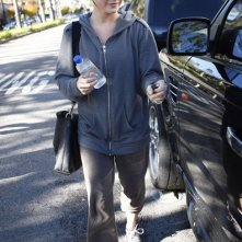 La ballerina Julianne Hough va in palestra a Studio City