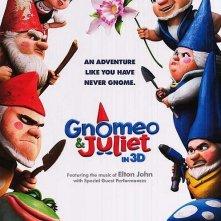 Ancora un nuovo poster per Gnomeo and Juliet