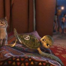 Fluffy incontra Sammy nel film Le avventure di Sammy - Il passaggio segreto