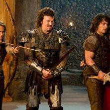 Foto di gruppo per il cast di Your Highness
