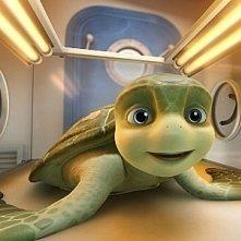 Il grazioso tartarughino protagonista del film d'animazione Le avventure di Sammy - Il passaggio segreto