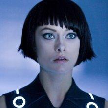 Olivia Wilde in un'immagine di Tron Legacy