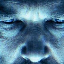 Primissimo piano di Jeff Bridges dal film Tron Legacy