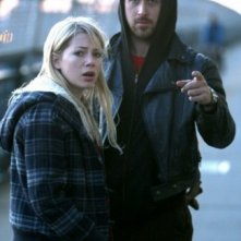 Ryan Gosling e Michelle Williams in una sequenza del film Blue Valentine