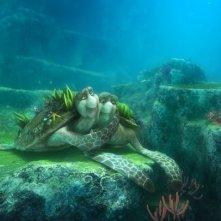 Un'immagine del popolo marino dal film d'animazione Il giro del mondo in 50 anni - 3D (2009)