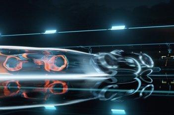 Un'immagine tratta dal film Tron Legacy