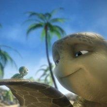 Una intensa immagine dal film d'animazione Le avventure di Sammy - Il passaggio segreto