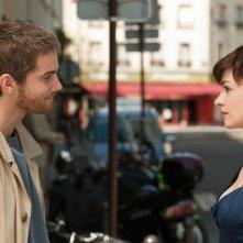 Faccia a faccia tra Jim Sturgess e Anne Hathaway in One Day