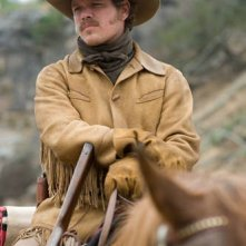 Matt Damon in azione nel western True Grit