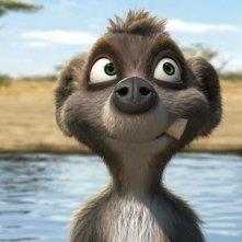 Billy, il lemure protagonista del film Animals United