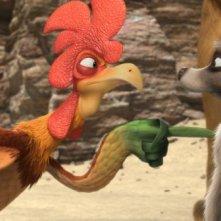 Charles e Billy nel film Animals United