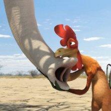Il gallo Charles nel film Animals United
