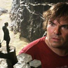 Jack Black, ingrandito per il film I fantastici viaggi di Gulliver in 3D