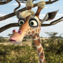 La giraffa Gisela nel film Animals United