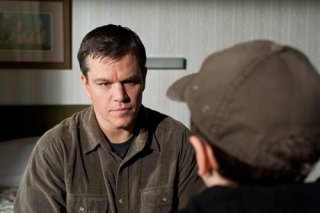 Matt Damon nei panni di George nel film Hereafter