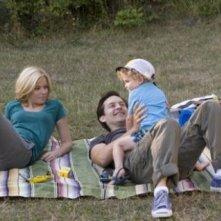 Ritratto di una famiglia felice: Tobey Maguire ed Elizabeth Banks in The Details