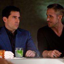 Steve Carell e Ryan Gosling nella prima immagine di Crazy, Stupid Love