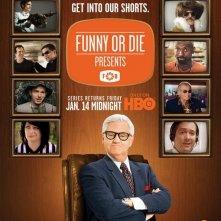 Un poster della stagione 2 di Funny or Die Presents...