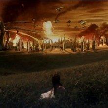 Una immagine tratta da Ultraman Zero The Movie: Super Deciding Fight! The Belial Galactic Empire