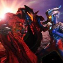 Una scena di Ultraman Zero The Movie: Super Deciding Fight! The Belial Galactic Empire