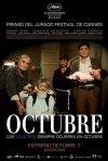 La locandina di Octubre