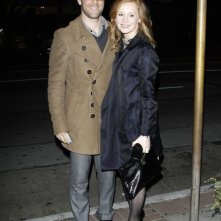 James Van Der Beek e sua moglie Kimberly Brook in una notte a Los Angeles