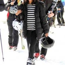 Zoe Saldana e fidanzato per le piste di Aspen