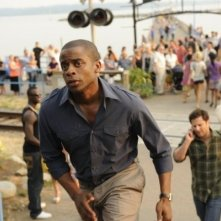 Dulé Hill e James Roday nell'episodio One, Maybe Two, Ways Out di Psych