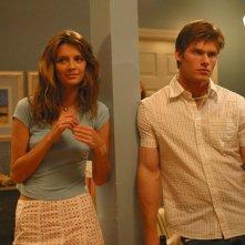 Marissa (Mischa Barton) e Luke (Chris Carmack) nell'episodio Il nascondiglio perfetto di The O.C.