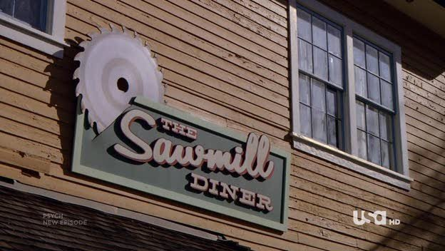 Un Immagine Dell Episodio Dual Spires Di Pych Omaggio A Twin Peaks 187774