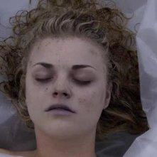 Un'immagine tratta dall'episodio Dual Spires di Pych, omaggio a Twin Peaks