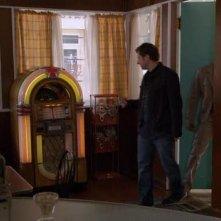 Un momento dell'episodio Dual Spires di Pych, omaggio a Twin Peaks