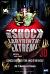 La locandina italiana di The Shock Labyrinth: Extreme 3D