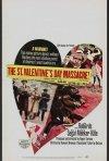 Locandina del film Il massacro del giorno di San Valentino (1967)