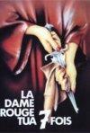 Locandina francese del film La dama rossa uccide sette volte