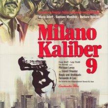 Locandina tedesca del film Milano calibro 9