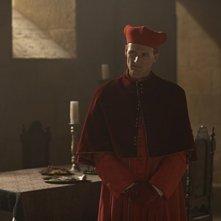 Colm Feore è il Cardinale Della Rovere nella serie The Borgias