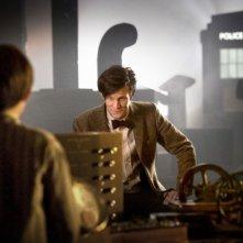 Matt Smith e Laurence Belcher nello speciale natalizio A Christmas Carol di Doctor Who