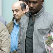 Morris Chestnut nell'episodio Serpent's Tooth di V