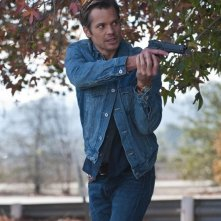 Timothy Olyphant nell'episodio Blind Spot di Justified