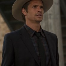 Timothy Olyphant nell'episodio The Lord of War and Thunder di Justified