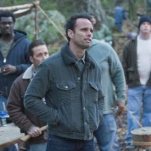 Walton Goggins in una scena dell'episodio The Hammer di Justified