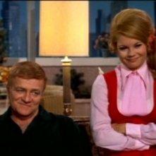 Brian Keith e Kathy Garver nella serie Tre nipoti e un maggiordomo