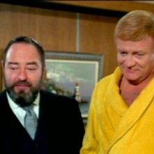 Sebastian Cabot e Brian Keith nella serie Tre nipoti e un maggiordomo