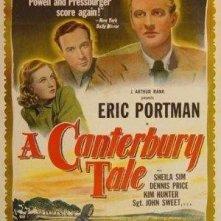 La locandina di Un racconto di Canterbury