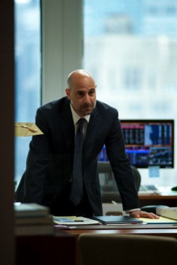 Un aggressivo Stanely Tucci in Margin Call