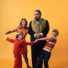 Un'immagine promozionale della serie tv Tre nipoti e un maggiordomo