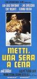 Locandina del film Metti, una sera a cena