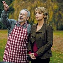 Francis Perrin con Virginie Efira in una scena di La chance de ma vie