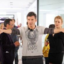 Il regista Nicolas Cuche sul set de La chance de ma vie